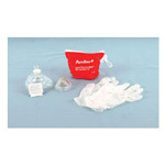 Res-Cue CPR Barrier Mask, w/Infant Mask, One-Way Filter, Gloves, Wipes, Red Soft Case