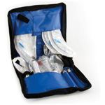 Hoover Intubation Case, Blue