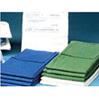 Surgical Towels, 100% Cotton, Sterile, Blue, Disposable