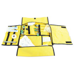 Intubation Case, 17inch x 26inch, Yellow