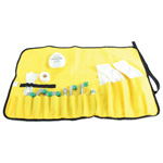 ET Holder Case, Roll Up Style, Yellow