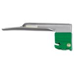 GreenLine/D Laryngoscope Blade, Stainless Steel, Fiber Optic, Miller 1, Infant