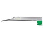 GreenLine/D Laryngoscope Blade, Stainless Steel, Fiber Optic, Miller 4, LG Adult
