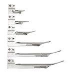 Laryngoscope Blade Fiber-optic Miller 3, Stainless Steel