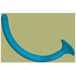 Robertazzi Nasopharyngeal Airway, 28 French, Blue Latex