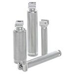 Rusch Standard Laryngoscope Handle, Chrome, 2 AA Batteries, SM