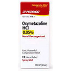 Oxymetazoline HCI, 0.05%, 1oz., 30ml Bottle