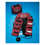 *Discontinued* Trauma Air Pants, Pediatric, Pump Assembly, Bag, Pressure Relief Valves