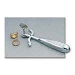 Finger Ring Cutter, Chrome Handle, Safety Lever, LG Thumbscrew