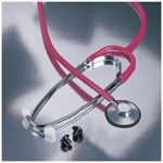Proscope 660 Stethoscope, Nurse Scope, 22inch Tubing, Pink