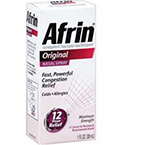 Afrin Nasal 0.05%, 30ml Bottle