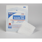 Gauze Pad, Sterile, 100% Woven Cotton, 12 Ply, 2inch x 2inch