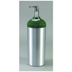 O2 Cylinder, D Tank, Aluminum, with Toggle