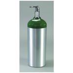 O2 Cylinder, D Tank, Aluminum, with Toggle
