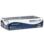 Curaplex® TritonGrip EC™ Gloves, Blue Nitrile, Powder Free, SM