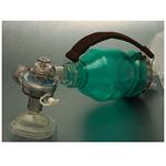 Resuscitator, Rescuer, Disposable, with PEEP Connector, MDI, Handle*LIMITED QUANTITY*
