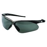 Nemesis Polarized Safety Glasses, Gunmetal Frame, Smoke Lens