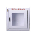 AED Cabinet, Surface, No Alarm, 17.5 x 17.5 x 7inch