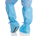 Shoe Covers, Hi Guard Regular Full Coverage, XL Size, Shoe and Lower Leg, Traction Strips 150/cs
