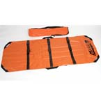 Reeves Model 104 Flexible Mass Casualty Stretcher w/Plastic Buckles, Orange