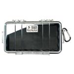 Pelican 1060 Micro Case, 8.25inch x 4.25inch x 2.25inch, Solid Black