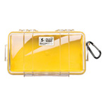 Pelican 1060 Micro Case, 8.25inch x 4.25inch x 2.25inch, Solid Yellow