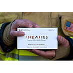 FireWipes, Personal Wipes, for Soot Removal, 8in x 12in, Textured, Disposable