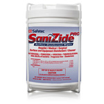 SaniZide Pro Wall Mount Canister Holder, for 160ct Canister