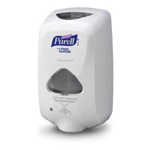 Touch Free Hand Dispenser for Purell Gel 1200ml, Dove Gray