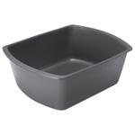 Wash Basin, Graphite, Plastic, 8 quart Capacity