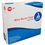 Bouffant Cap, Spunbonded Polypropylene, 24in, Blue *Discontinued*