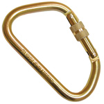 Carabiner, RescueTech, NFPA, X-Large 1.58inch Gate, Gold