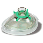 Premium Anesthesia Breathing Mask, Green Hook Ring, Toddler