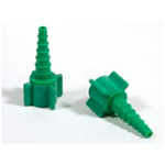 O2 Connector, Nipple/Nut, Christmas Tree, Swivel, Green