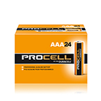 Duracell Procell AAA Alkaline Batteries PC2400, 24/BX