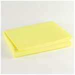 Emergency Barrier Trauma Blanket, Disposable, 60inch x 90inch, Yellow
