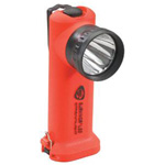 Flashlight, Survivor LED, with AC/DC, Orange