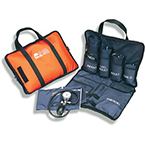 BP Cuff and Stethescope Combo, MatchMates, with Sprague, Steth Accessories, Carrying Case, Orange