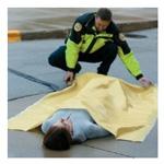 Blanket, Emergency, Economy, Yellow, 54 x 84inch