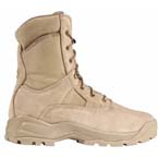 5.11 Men ATAC 8in Coyote Boot, Side Zip