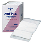 ABD Pads, Sterile, Abdominal Pads, 8inch x 10inch