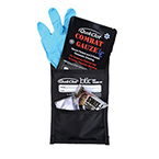QuikClot Belt Trauma Kit (BTK) w/Combat Gauze LE, SWAT-T Dressing, Gloves, CPR Barrier 25/cs