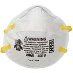 N95 Particulate Respirator, Disposable, MED/LG