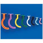 Berman Color-Coded Airways, Disp, 110mm, Size 11, Orange
