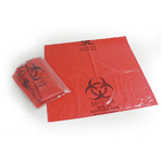 Bio-Hazard Red Liner, 30inch x 44inch, 30 Gallon