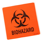 Bio-Hazard and Infectious Waste Labels, Orange