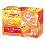Emergen-C, Vitamin C Supplement, Orange, 1000mg