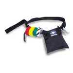 Triage Belt, Belt Pouch, Elastic Keepers, Tape Not Included, Black