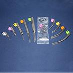 Laryngoscope, Disposable, Conventional, BriteView Blade, Macintosh, 3, Orange