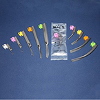 Laryngoscope, Disposable, Conventional, BriteView Blade, Macintosh, 4, Lime